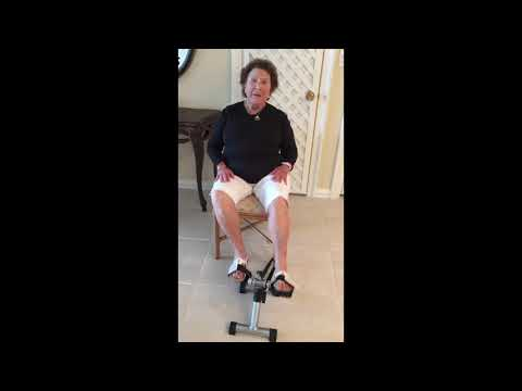 LifeBike Portable Pedals - Easy & Effective Exercise Solution for Seniors Who Sit